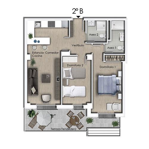 Nueva promoción de viviendas en Soria