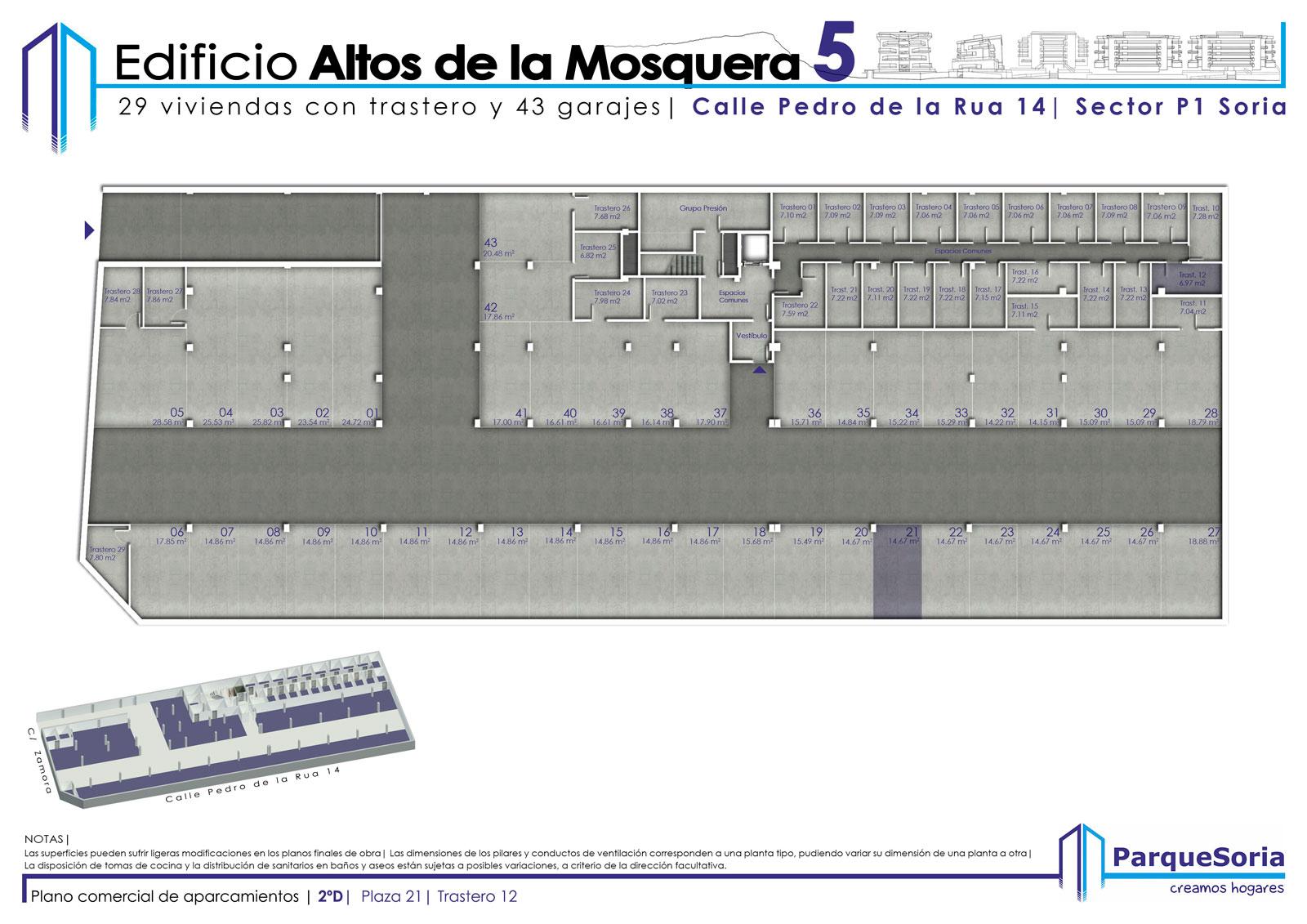 Plaza de Garaje 2º D